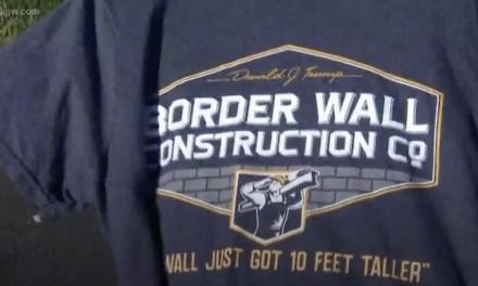 Oregon student sues school district over right to wear pro-border wall shirt