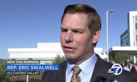 Former candidate Eric Swalwell looks forward to supporting Dem 2020 nominee: 'Whoever she may be'
