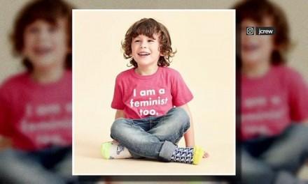 Clothing Retailer Pushes Feminism on Young Boys