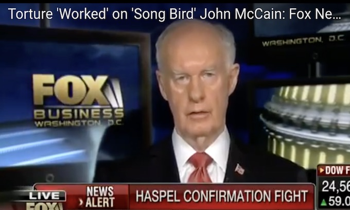 Fox News Bans Guest Analyst Who Said Torture 'Worked' on John McCain