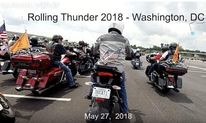 Rolling Thunder rides through D.C. to honor the sacrifices of our veterans