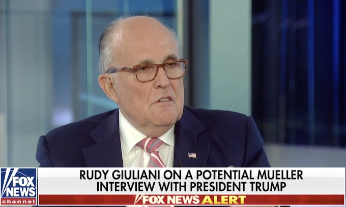 Giuliani blasts Mueller probe, says Comey should be indicted