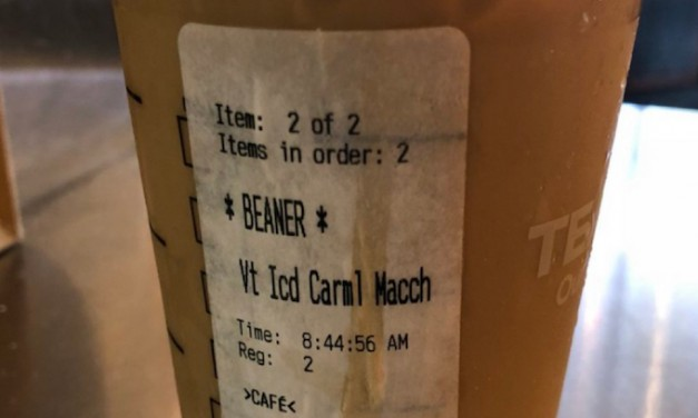 Starbucks under fire after man receives order with 'Beaner' written on it
