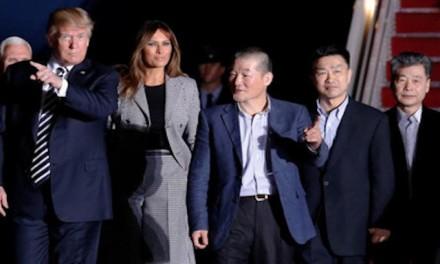 Trump diplomacy brings three Americans home from Pyongyang