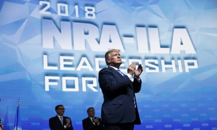 Trump urges GOP voters not to be complacent at NRA convention