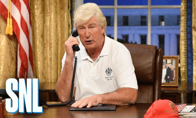 Egomania: Alec Baldwin '1,000 percent' sure he could beat Donald Trump for president in 2020