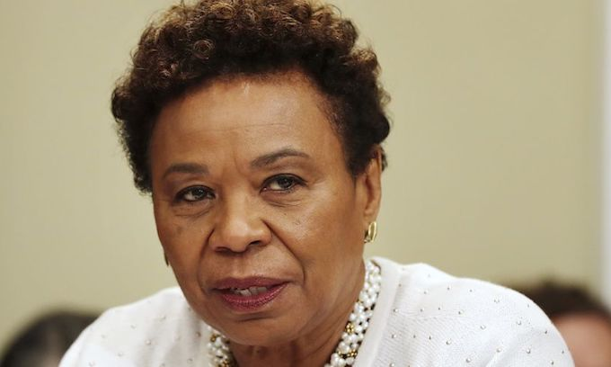 Rep. Barbara Lee accuses Trump of 'criminalizing' alien lawbreakers