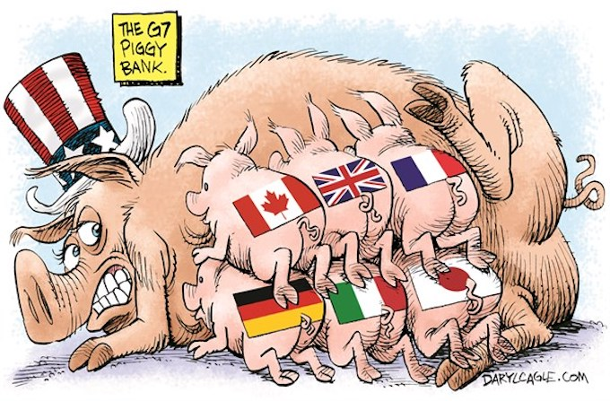 G7 Piggies