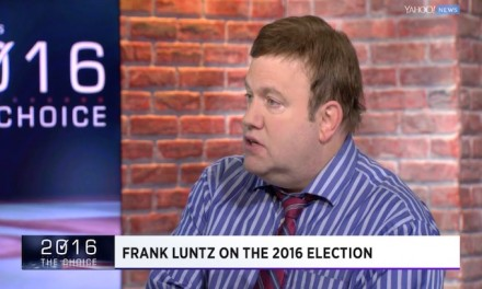 Frank Luntz, anti-Trumper, slams anti-Trump media