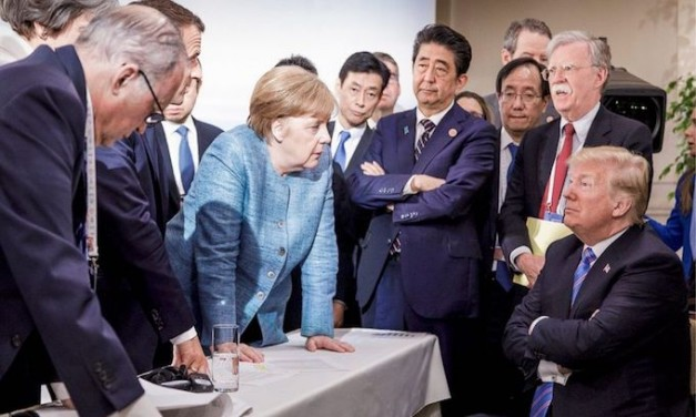 'Sitting Bull in a china shop': G-7 photo is latest attempt to embarrass Trump, latest failure