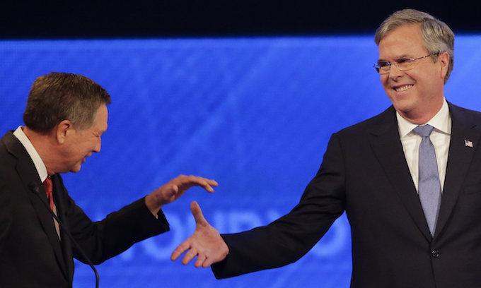 Kasich, Bush join uproar against 'zero tolerance' border policy