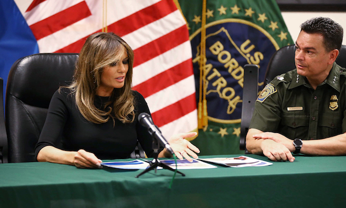 Melania Trump shocked by smugglers' cruelty during border visit