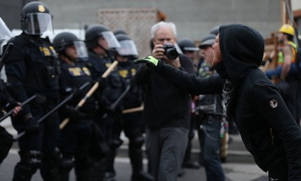 Feds clear protesters from front of Portland ICE building, 8 face charges