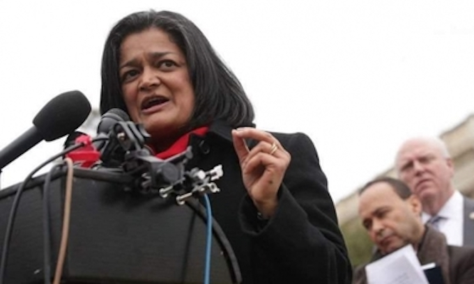 Rep. Pramila Jayapal arrested at D.C. protest of Trump's 'zero tolerance' border policy