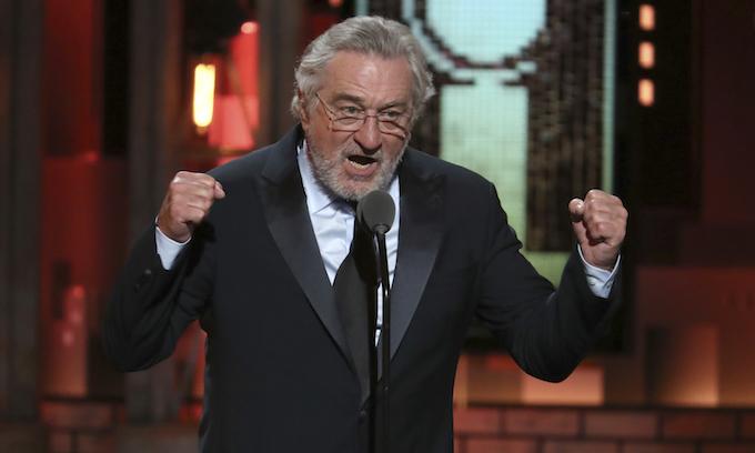 MSNBC's Scarborough: Robert De Niro tirade 'helping Donald Trump's re-election'