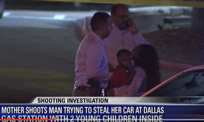 Dallas mom shoots man who tries to steal car with kids inside: 'Defending what's mine'