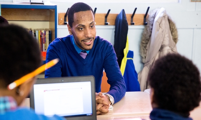 Possible key to black boys' academic success: Hire 'soul models'