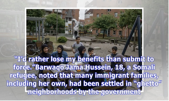 Left says Danish push for assimilation is too harsh