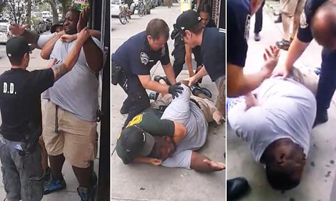 NYPD still pursuing cop involved in arrest of Eric Garner