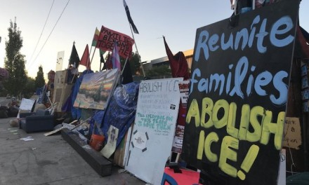 Portland mayor 'created a zone of terror and lawlessness' with support of Occupy Ice