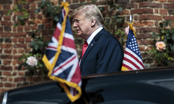 Trump slams May over 'very unfortunate' Brexit plan, says 'it will probably kill' US trade deal