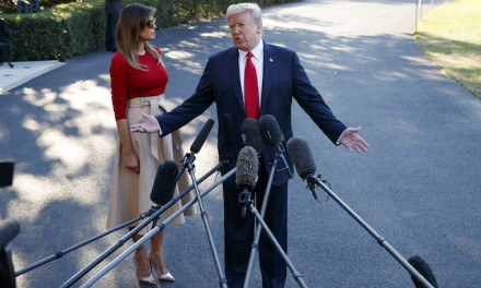 Trump heads to Europe for NATO summit, visits with May, Putin