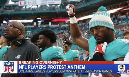NFL: Players kneel, raise fists during preseason games