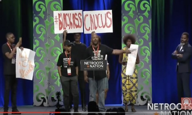 Protesters crashed leftist Netroots Nation to demand a more inclusive progressive conference