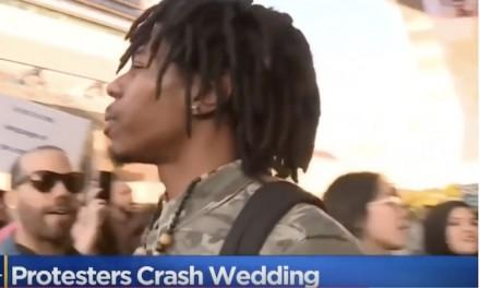 Black Lives Matter protesters crash police officer's wedding: 'You're a murderer!'