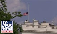 President Trump orders White House flags back to half-staff for John McCain's death