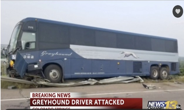Crash: Mexican national uses knife to commandeer Greyhound bus