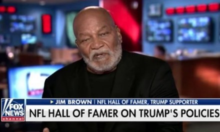 Jim Brown: Black community 'has a responsibility' to look inward, not blame Trump
