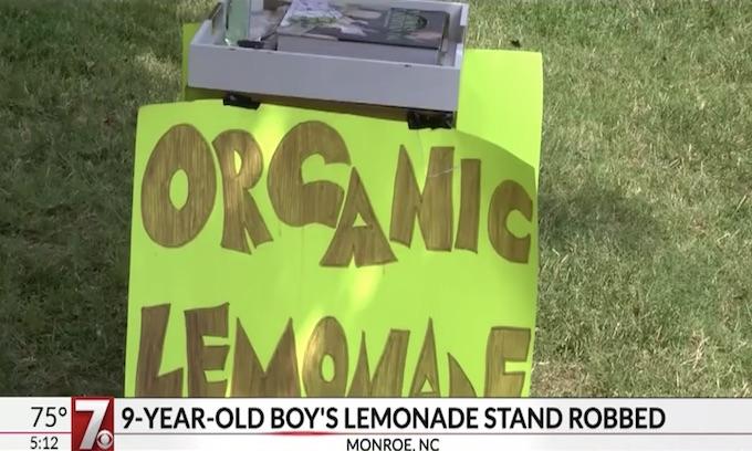 9-year-old's lemonade stand robbed at gunpoint, police say