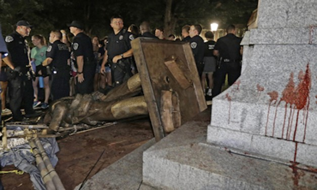Lawless: Rioters bring down a Confederate statue at UNC