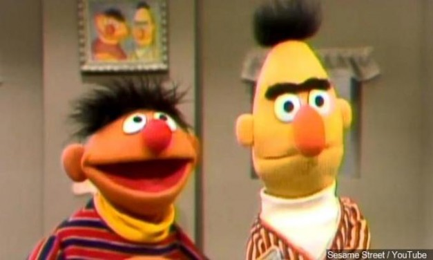 Bert and Ernie Supposed to Teach ABCs, not LGBTQ