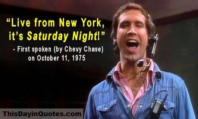 Chevy Chase shreds 'Saturday Night Live'