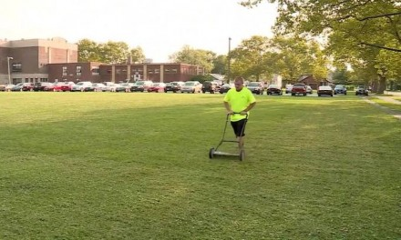 Teen mowed obscene message in high school's grass. Judge's sentence really pushes it