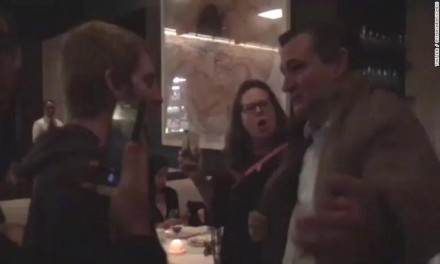 Leftists restaurant confrontation with Ted Cruz  backfires
