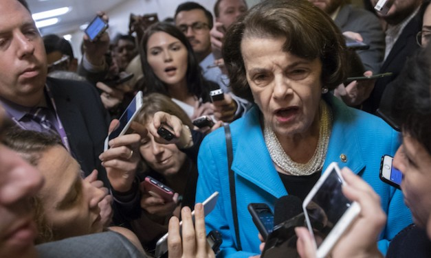Dianne Feinstein claws away line between partisan crassness and felonious incivility