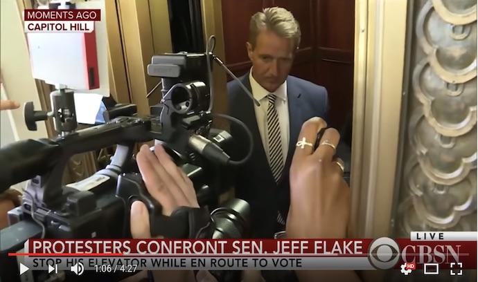 Trump orders 7th FBI investigation of Kavanaugh as GOP senators 'Flake' out