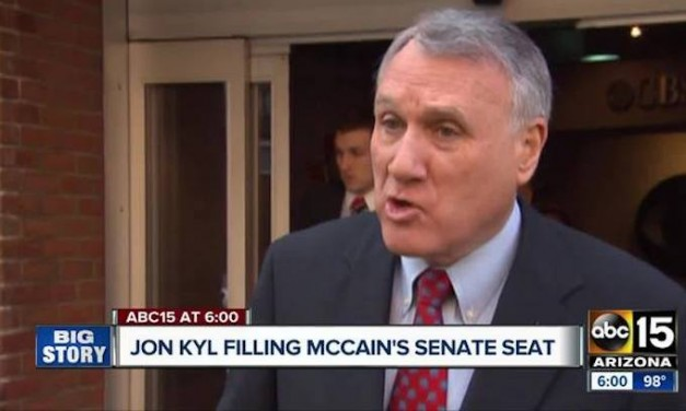Jon Kyl picked as interim replacement for McCain