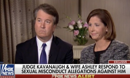 Brett Kavanaugh denies accusations on camera, refuses to withdraw