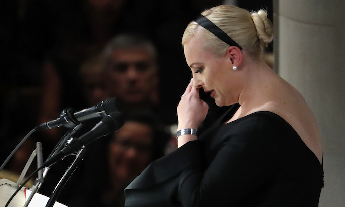 Like Father, Like Daughter: McCain's friends defend Meghan