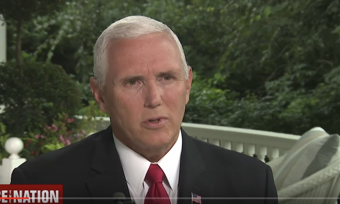 Mike Pence calls for author of anonymous NYT op-ed to resign