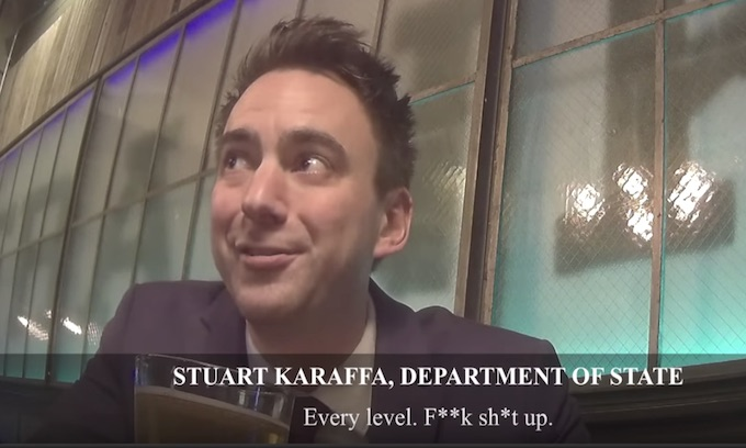 State Department bureaucrat caught plotting 'deep state' resistance: Project Veritas