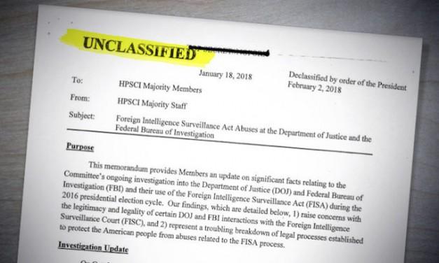 President Trump orders declassification of Russia probe documents