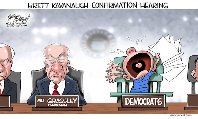 Democrat temper tantrums or not, Brett Kavanaugh will be a Supreme Court justice