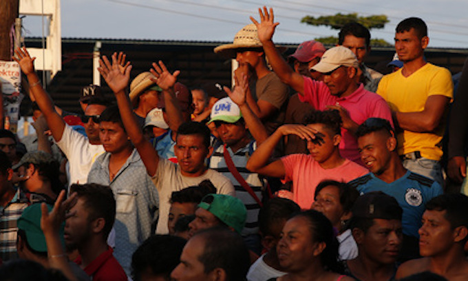 Unvetted Illegal Caravans Threaten Public Health
