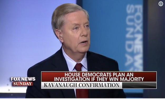 Lindsey Graham would continue Justice Department-FBI probe as Judiciary Committee chairman