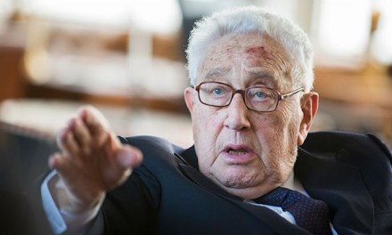 Henry Kissinger called 'war criminal,' told to 'rot in hell' by protesters at NYU event